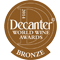 Decanter World Wine Awards 2014 - Decanter Bronze