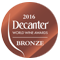 Decanter World Wine Awards 2016 - Decanter Bronze