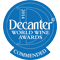 Decanter World Wine Awards 2014 - Decanter Commendet